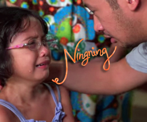 Ningning admits fear of going blind to her father
