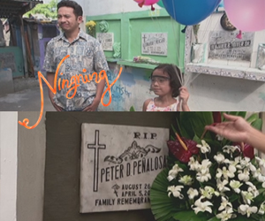 """Ningning says thank you to Kuya Peter for helping her to see again"""